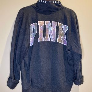 PINK VS Zip up Pullover Jacket